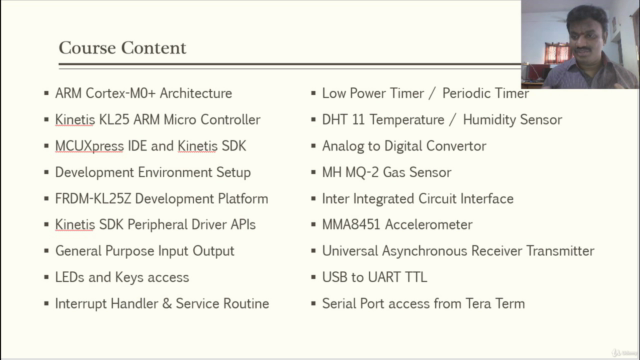 Bare Metal Programming Kinetis KL25 ARM Cortex-M0+ Processor