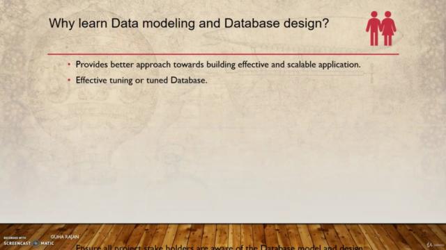 Data modeling and Relational database design