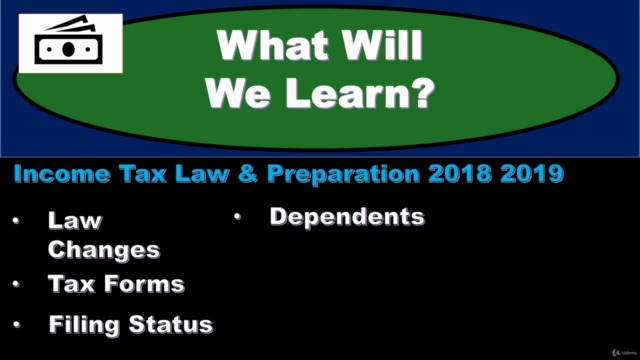 Tax Preparation and Law 2021, 2020, 2019 & 2018 - Income Tax
