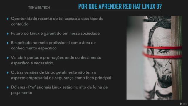 Curso Preparatório para Certificação RHCSA Red Hat Linux