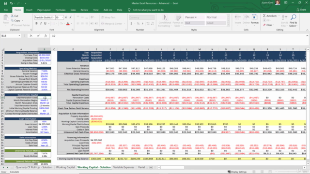 The Advanced Real Estate Financial Modeling Bootcamp