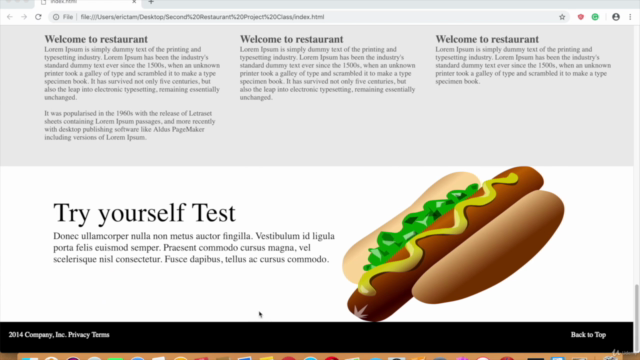 Make A Responsive Website From Scratch: Javascript and HTML