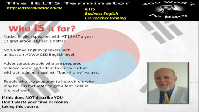 Be an English teacher to speakers of other languages