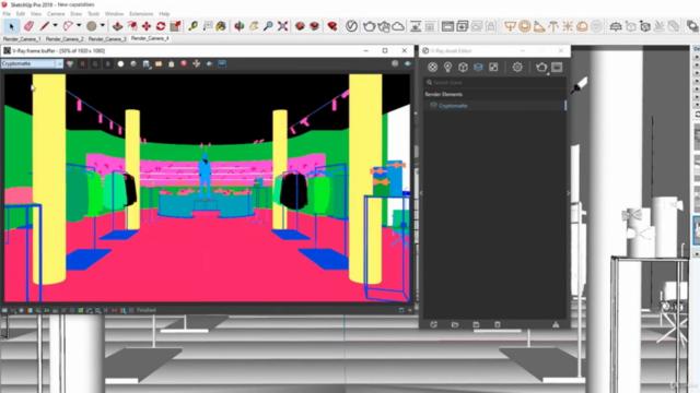 SketchUp 2021 + VRay Next. Aprende con Proyectos 3D Reales.