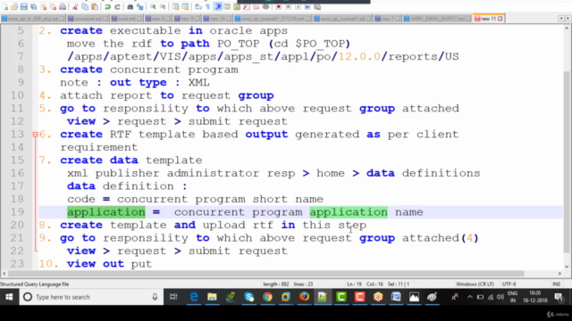 Complete Course on XML Publisher Reports in Oracle Apps R12