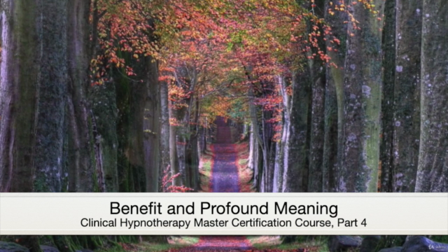 Clinical Hypnotherapy Master Certification Course, Part 4