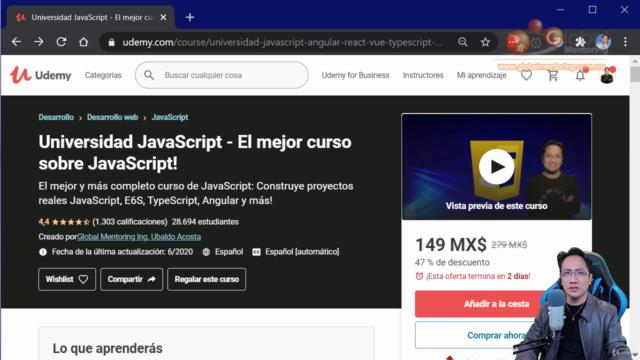 Universidad JavaScript 2021 - De Cero a Experto con +51hrs