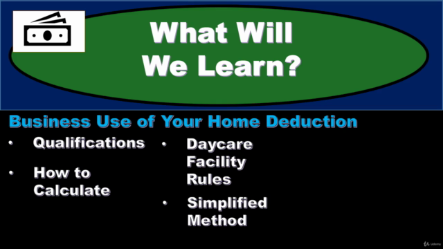 Income Tax-Business Use of Home Deduction