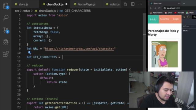 Aprende Redux con React hooks y GraphQL fácilmente