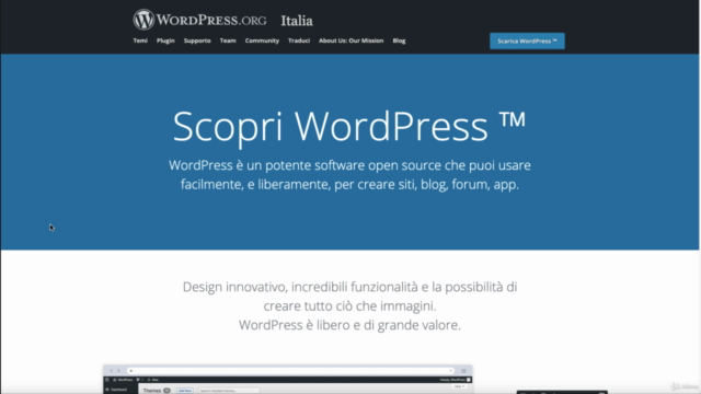 Wordpress: Impara da Zero come Creare un Blog/Sito