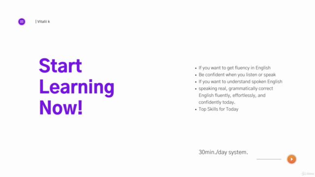 30min./day system. Learn 1000+ Most Useful English Phrases!