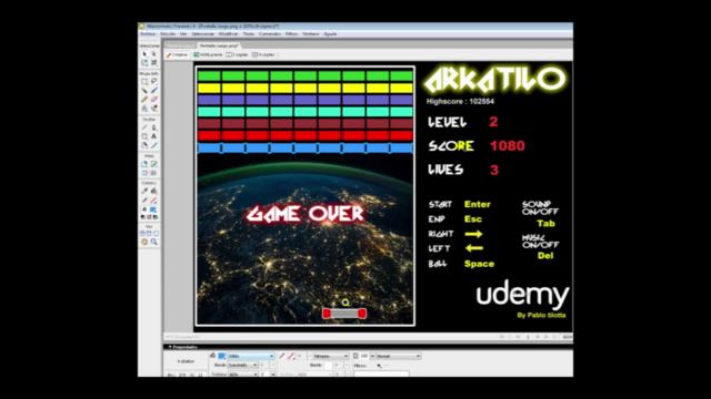 C++ Desarrollo de Videojuego 2D Arcade paso a paso