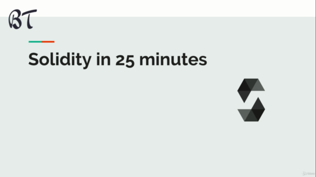 Learn Solidity in 30 mins