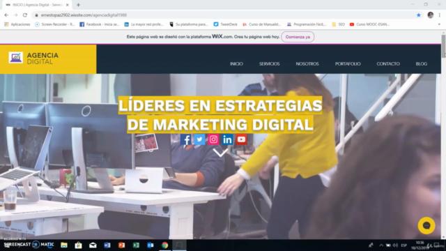 Curso de Wix 2021: Cómo Crear una Página Web Desde Cero