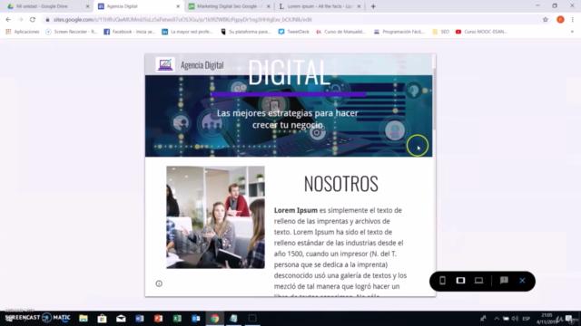 Curso Google Sites 2021: Cómo Crear Páginas Web Desde Cero