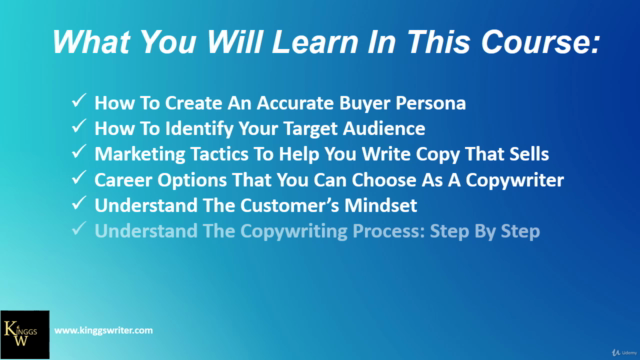 Complete Copywriting Course For 2020: Write Copy That Sells