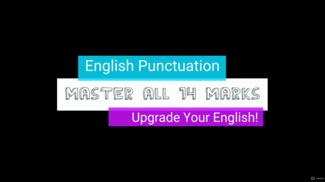 Complete English Punctuation Course. English Writing Mastery