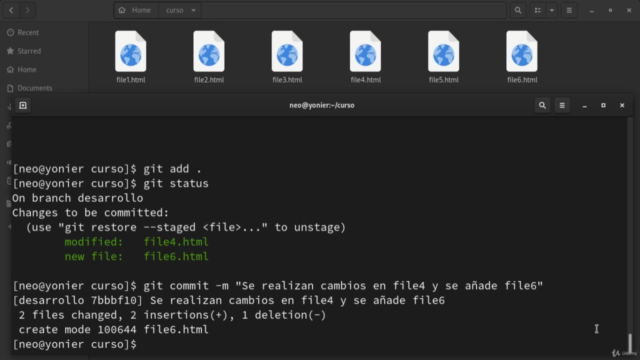Git de principiante a experto, GitHub, GitLab, Azure, Commit