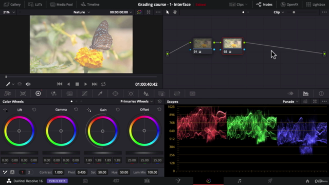 Complete Color Grading & Color Correction in DaVinci Resolve