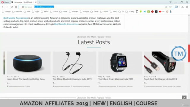 Amazon Affiliates 2020 New Updated English Beginners Course