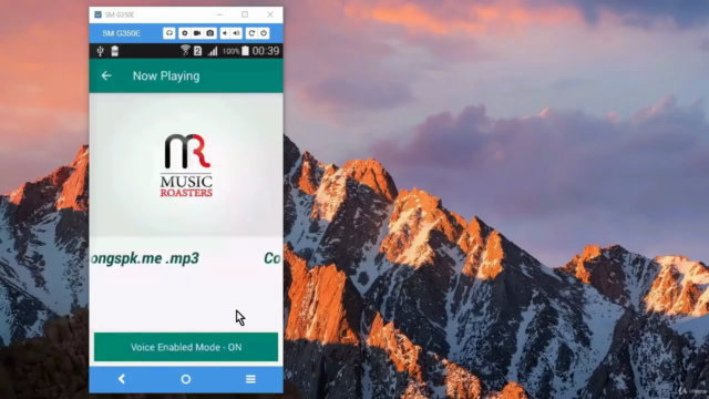 Create Ai Android Music Player App using Voice Commands