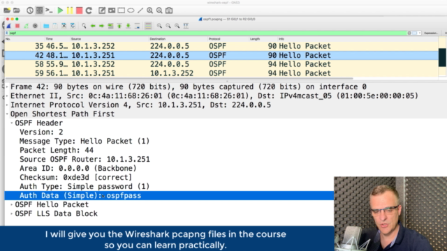 Wireshark: Packet Analysis and Ethical Hacking: Core Skills