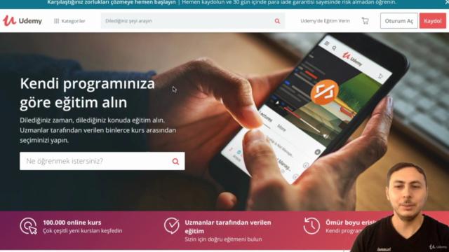 Udemy'de Online Eğitim Vererek Eğitmen Olun (UnOfficial)