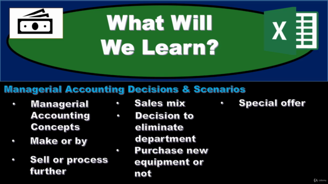 Relevant Costs - Managerial Accounting Decisions & Scenarios