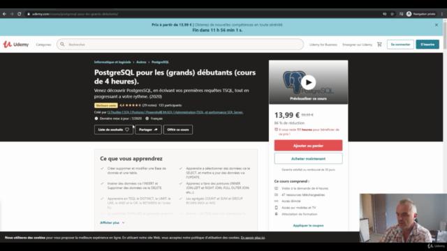 PostgreSQL pour les (grands) débutants (4 h de pratique)