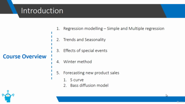 Marketing Analytics: Forecasting Models with Excel