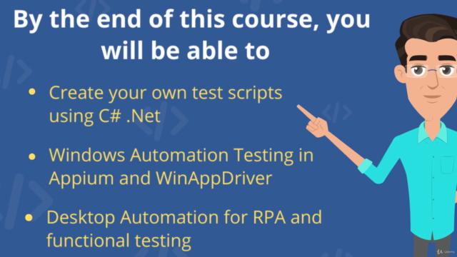 Appium WinAppDriver UI Automation Testing Windows Apps in C#