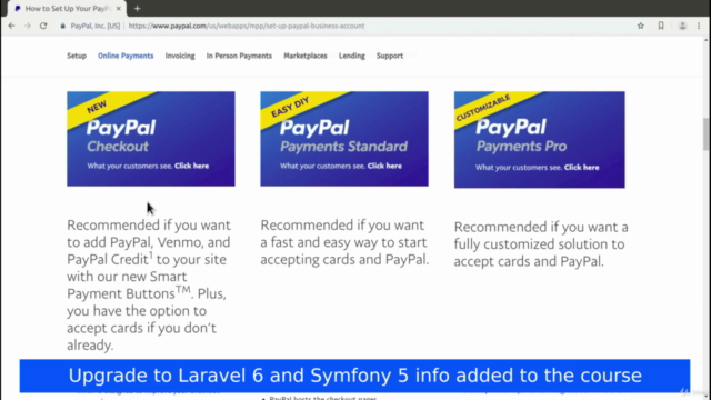 PayPal Payment Integration with PHP, Laravel and Symfony