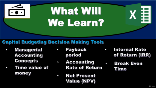 Time Value of Money & Capital Budgeting - Present Value