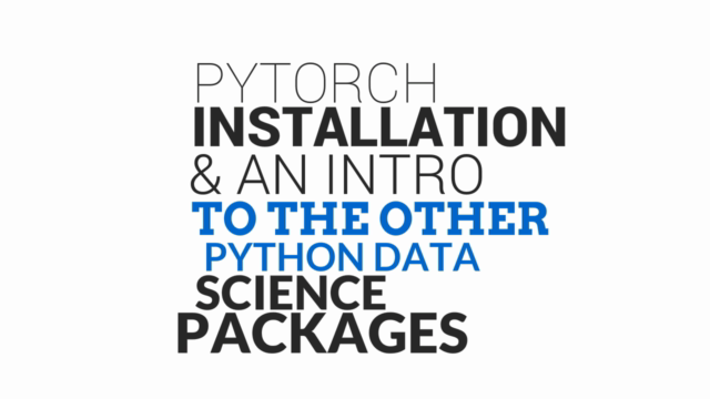 PyTorch Tutorial - Neural Networks & Deep Learning in Python