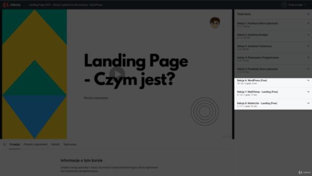 Landing Page 2021 - Strona Lądowania dla biznesu - WordPress