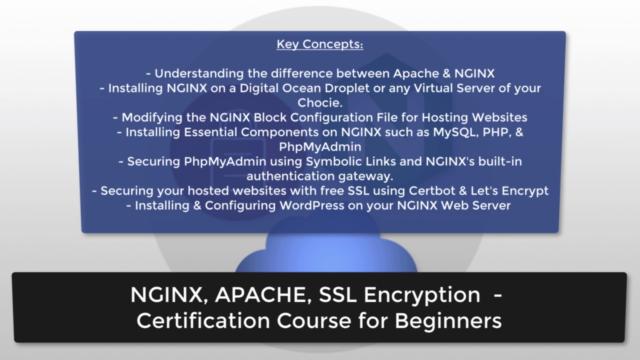 NGINX, Apache, SSL Encryption - Certification Course