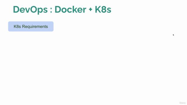 Kubernetes Docker MasterClass : Hands-On DevOps from Scratch