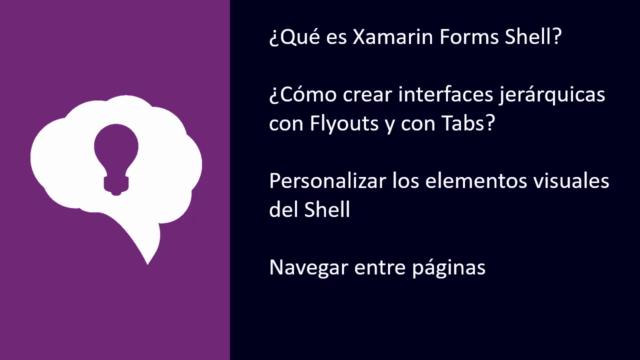 Xamarin Forms Shell: De Cero a Experto