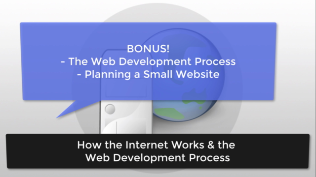 How the Internet Works & the Web Development Process