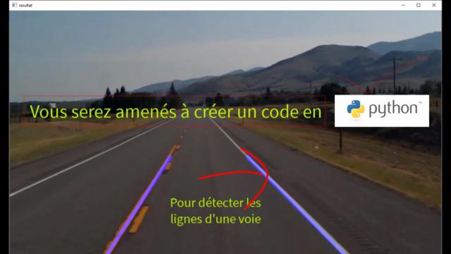 Détection de lignes par Python pour une Voiture Autonome