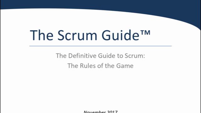 [2020] Scrum Guide: Audio Book
