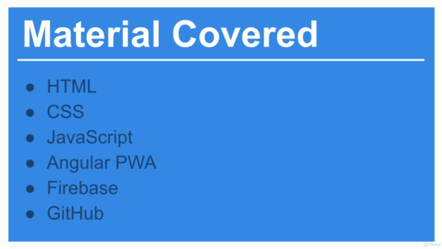 Modern Web Design & Development: Intro to PWAs in Angular 8