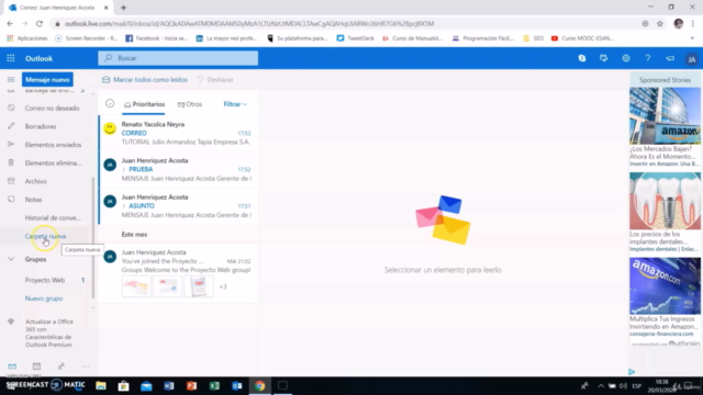 Curso de Outlook 2021 (Hotmail) , ¡Desde Cero Hasta Experto!