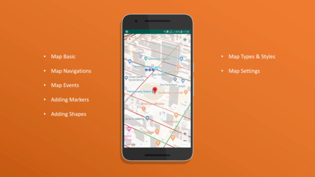 Google Map API for Android Essential Training 2019