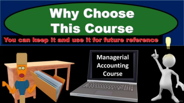 Managerial Accounting / Cost Accounting