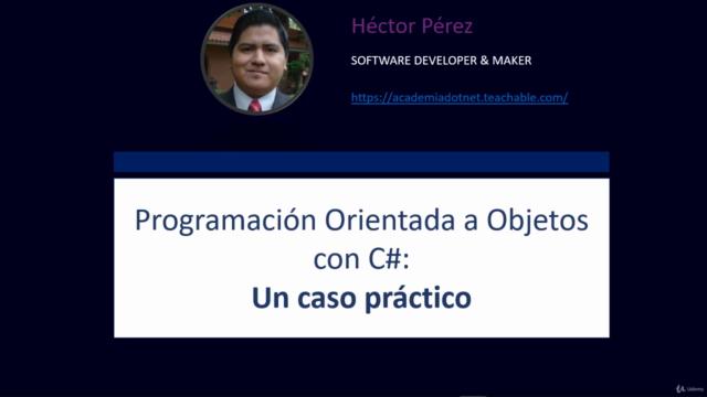 Programación Orientada a Objetos con C#: Un Caso Práctico