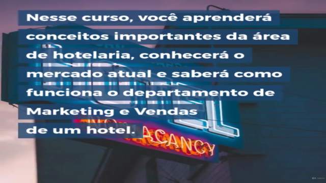 Gestão Comercial em Hotelaria