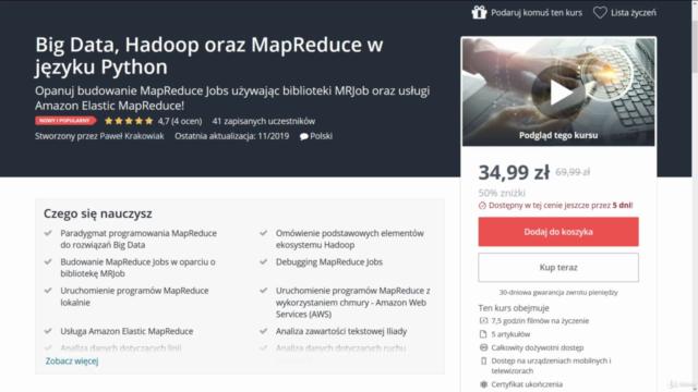Big Data, Hadoop oraz MapReduce w języku Python