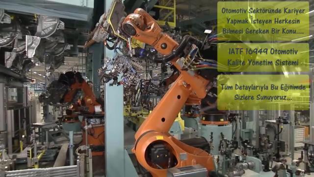 IATF 16949 - Otomotiv Kalite Yönetim Sistemi Eğitim Programı
