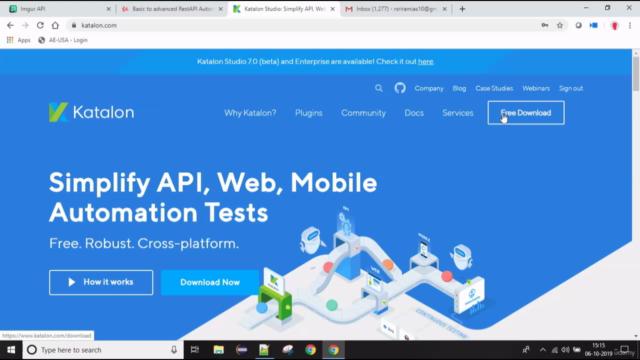 Basic to Advanced RestAPI Automation testing step by step